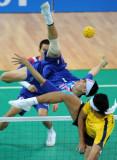 图文-泰国队夺男团藤球冠军