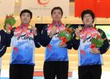 韩国选手领奖