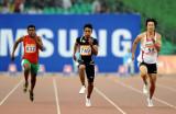 ―男子100米赛况
