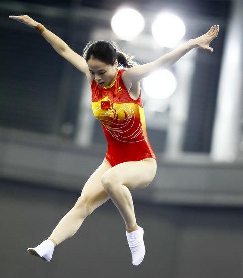 黄珊汕空中舞蹈