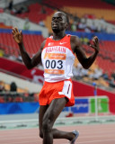 巴林选手获得第三名