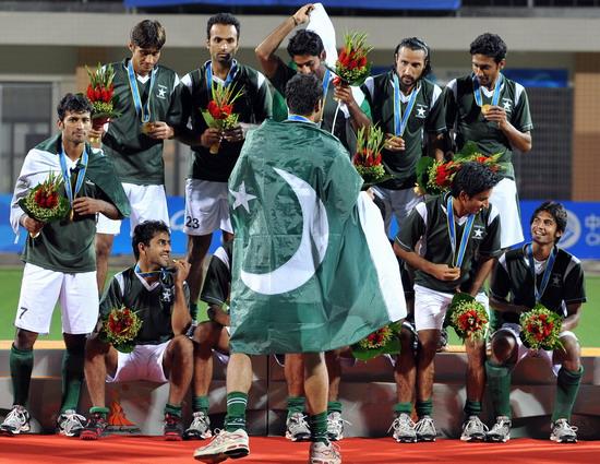 巴基斯坦夺得金牌