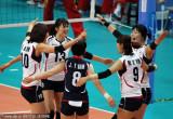 韩国队拿下一局