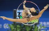 图文-亚运艺术体操个人全能赛