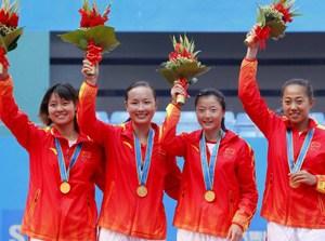 亚运女团李娜彭帅横扫对手中国时隔24年再夺冠