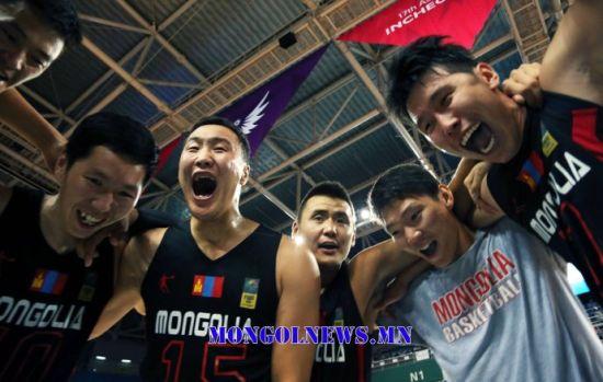 蒙古篮球因为热爱