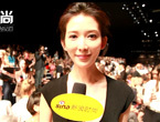 林志玲:T台上的服装才是秀场的主角