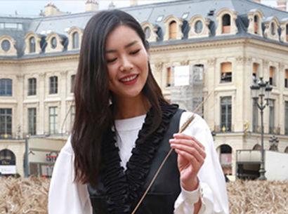 新浪时尚独家跟拍:后超模时代的刘雯