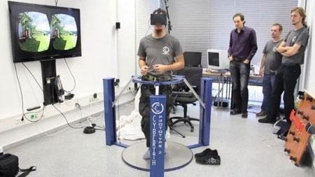 虚拟现实设备Virtualizer:边玩游戏边锻炼