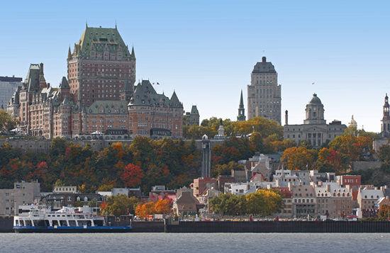 魁北克秋季美景
